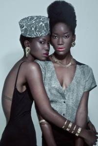 2 gorgeous women