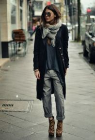 leapard shoes
