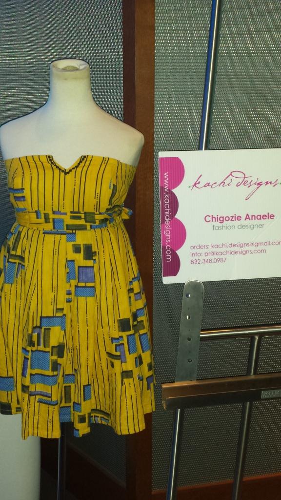 Fashion Designer Chigozie Anaele for kachi designs